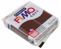 Полимерная глина FIMO Soft запекаемая шоколад (8020-75), 57 г