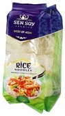 Лапша Sen Soy Rice noodles рисовая в гнездах 400 г