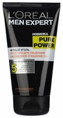 L'Oreal Paris Гель для умывания Men Expert Pure Power Черный уголь