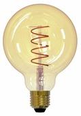 Лампа светодиодная Uniel UL-00001818, E27, G95, 4Вт