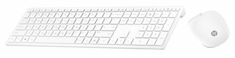 Клавиатура и мышь HP 4CF00AA Wireless Keyboard and Mouse 800 White USB