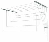 Сушилка для белья Лиана настенно-потолочная металлическая 1,6 м