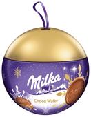 Вафли Milka Choco Wafer Xmas Bubble 180 г