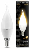 Лампа светодиодная gauss 104101107, E14, CA35, 6.5Вт