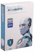ESET NOD32 Антивирус Platinum Edition (3 ПК, 2 года) коробочная версия