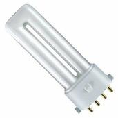 Лампа люминесцентная OSRAM Dulux S/E 840, 2G7, T12, 11Вт