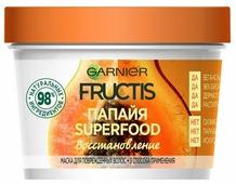 GARNIER Маска 3 в 1 для поврежденных волос Fructis SuperFood Папайя