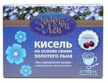 Кисель ВИТАПРОМ Золотой лен на льняной основе Вишня 7 шт. по 15 г