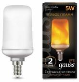 Лампа светодиодная gauss 157401105, E14, T65, 5Вт