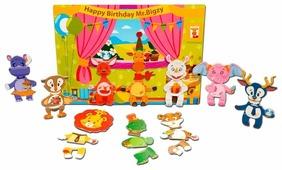 Mr.Bigzy Мозаика День рождение жирафа, 30 деталей (03BZ0002)