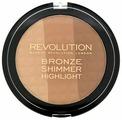 REVOLUTION Палетка для контурирования Ultra Bronze, shimmer and highlighter