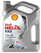 Моторное масло SHELL Helix HX8 Synthetic 5W-40 4 л