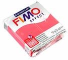 Полимерная глина FIMO Effect запекаемая полупрозрачный красный (8020-204), 57 г
