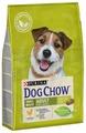 Корм для собак DOG CHOW для здоровья кожи и шерсти, курица (для мелких пород)
