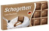 Шоколад Schogetten Latte Macchiato молочный с кофейно-молочной начинкой