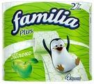 Туалетная бумага Familia Plus Яблоко двухслойная