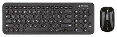 Клавиатура и мышь Jet.A Slim Line KM30W Black USB