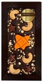 Шоколад Chokodelika темный с кешью, мармеладом и карамелью