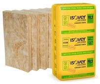 Стекловата Isover Классик Плита 1170x610х100мм 7 шт