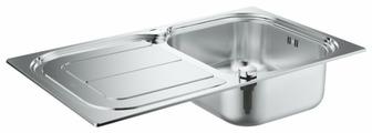 Врезная кухонная мойка Grohe K300 31563SD0 86х50см нержавеющая сталь