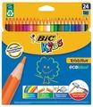 BIC Цветные карандаши Evolution 24 цвета (937515)