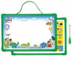 Доска для рисования детская Kribly Boo с алфавитом и маркером