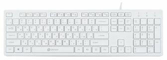 Клавиатура Oklick 500M White USB