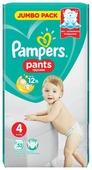 Pampers трусики Pants 4 (9-15 кг) 52 шт.