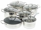 Набор посуды Hoffmann HM 5118 12 пр.