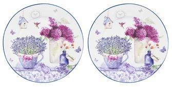 Elan gallery Набор десертных тарелок Лаванда 19см, 2 шт
