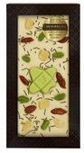 Шоколад Chokodelika белый с зеленым чаем, фисташками и ягодами годжи