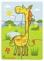 Пазл Мастер игрушек Жираф (IG0063), 6 дет.