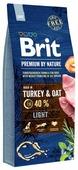 Корм для собак Brit Premium by Nature индейка