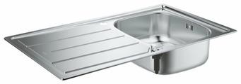Врезная кухонная мойка Grohe K200 31552SD0 86х50см нержавеющая сталь