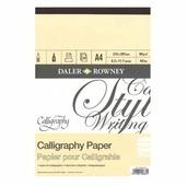 Альбом для каллиграфии Daler-Rowney Calligraphy 42 х 29.7 см (A3), 90 г/м², 30 л.