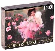 Пазл Рыжий кот Konigspuzzle Маленький ангел (МГК1000-6519), 1000 дет.