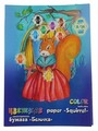 Цветная бумага двусторонняя Белочка Лилия Холдинг, A4, 16 л., 8 цв.
