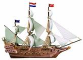 Пазл Zilipoo 3D Испанский корабль (H-101), 229 дет.