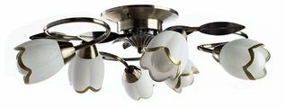 Люстра Arte Lamp Perce A6061PL-6AB, E14, 360 Вт