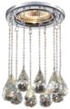 Встраиваемый светильник Novotech Ritz 369787, хром