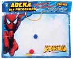 Доска для рисования детская 1 TOY Spider-Man с маркером и магнитиками (Т53138)