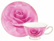 Elan gallery Чайная пара Розовая роза