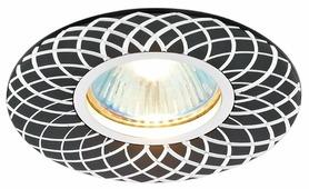 Встраиваемый светильник Ambrella light A815 BK/AL, сатин/черный