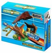 Трек База игрушек Улетные гонки: Взрывной гараж