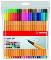STABILO набор капиллярных ручек Point 88 40 цветов, 0.4 мм (8840-1)