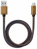Кабель Deppa Jeans USB - USB Type-C (72277) 1.2 м