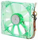 Система охлаждения для корпуса Akasa 12cm Quiet Bright Green Fan