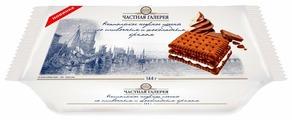 Печенье Частная Галерея неапольское нежное со сливочным и шоколадным кремом, 144 г