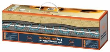 Нагревательный мат Теплый пол №1 ТСП-150-1.0 150Вт/м2 1м2 150Вт