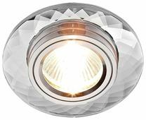 Встраиваемый светильник Ambrella light 8460 CL, хром